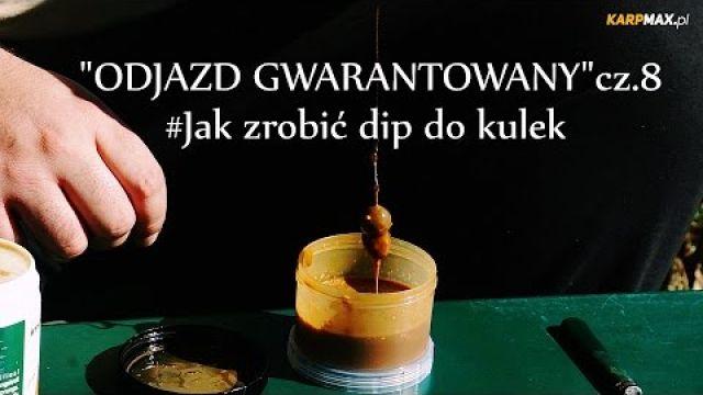 Robienie dipu do przynęt karpiowych / poradnik karpiowy / łowienie karpi / Odjazd gwarantowany cz.8