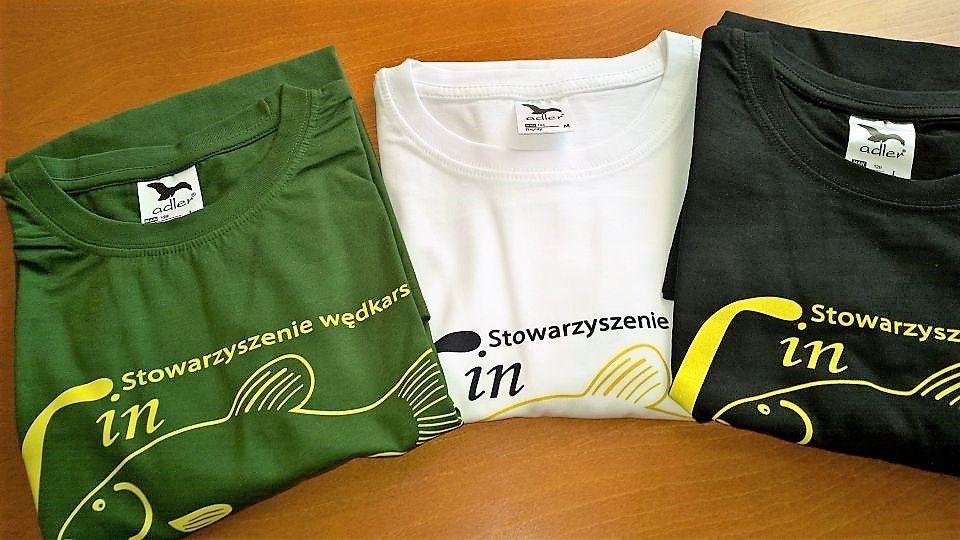 Wiosna,coraz cieplej,koszulki z logo LINA w promocji świątecznej 30 zł. sztuka.
