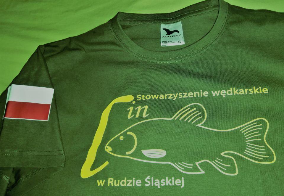 Łowisko Stowarzyszenia Wędkarskiego LIN w Rudzie Śląskiej w barwach narodowych.