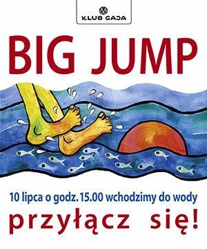 """Weź udział w akcji """"Big Jump"""". W tym samym dniu o tej samej godzinie ludzie z wielu krajów wchodzą do rzek, stawów, jezior, mórz i innych akwenów. Wyraź swoje poparcie dla czystych rzek. Zachęć do tego współpracowników, rodzinę, przyjaciół czy sąsiadów!Nasze Stowarzyszenie po raz kolejny postanowiło dołączyć do akcji koordynowanej przez Klub Gaja. BIG JUMP to europejska inicjatywa dla czystych rzek, która w tym roku odbędzie się 10 lipca (niedziela) o godz. 15.00.  Spotkania nad wodą w tym samym czasie będą miały miejsce w całej Europie, bo tak obywatele Europy manifestują swoje poparcie dla czystych i żyjących rzek, potrzebnych ludziom i zwierzętom. Klub Gaja każdego roku zaprasza Polki..."""