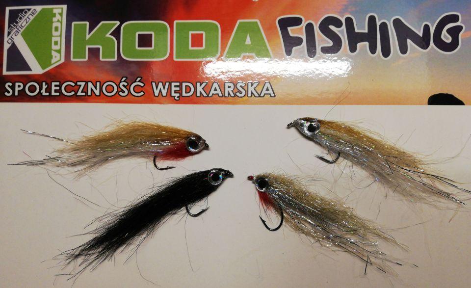 Podziękowania dla Tomasza Kubisty PANTHER od TEAMU KODA-FISHING za wzbogacenie kolekcji much.