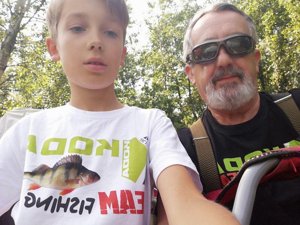 Trochę wspomnień. KODA-FISHING na lądzie, nad rzeką, na jeziorze i na morzu.