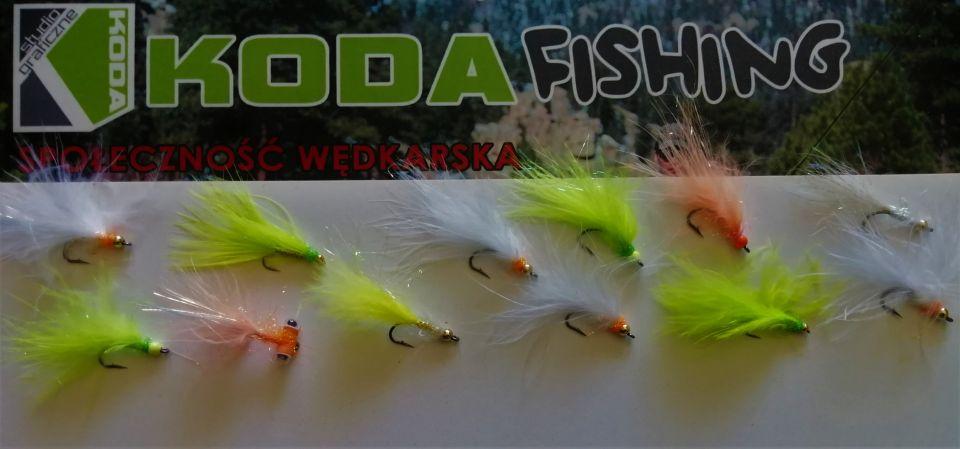 TEAM KODA-FISHING  wyposażony w MUCHY HAND MADE PANTHER.