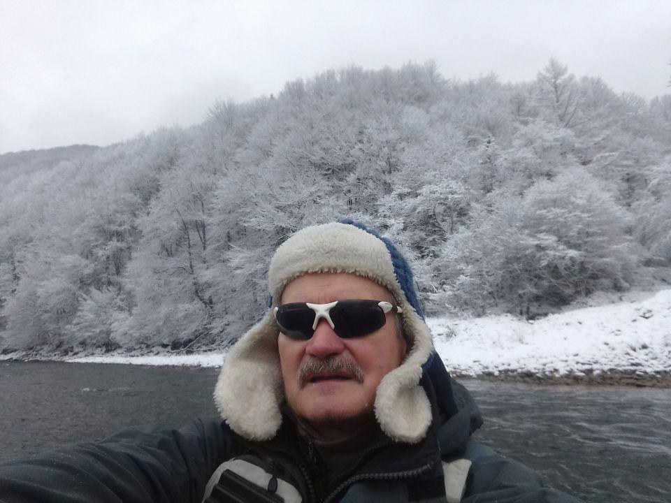 Dunajec w grudniu