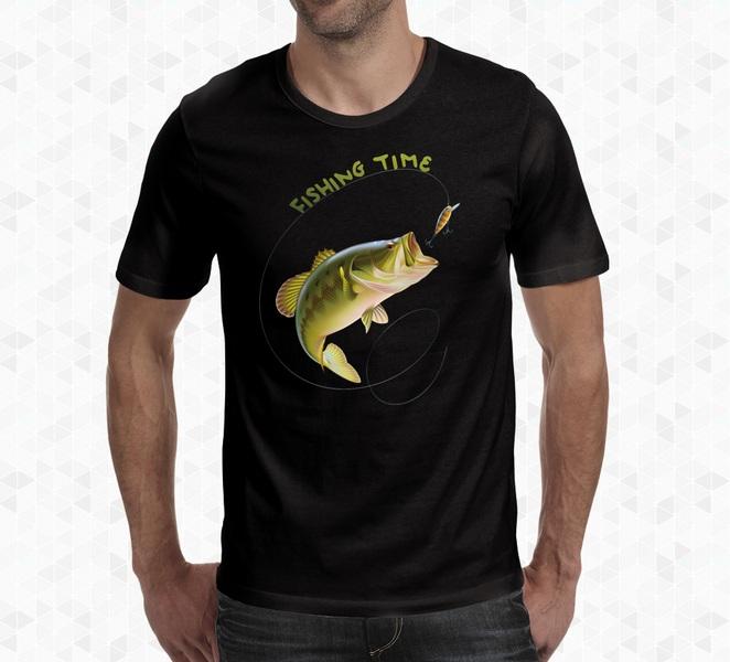 Koszulka wędkarska wzór 1