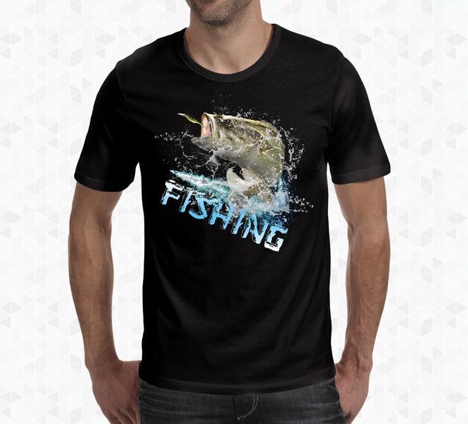 Koszulka wędkarska wzór 3